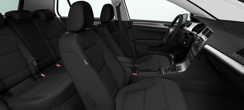 Golf 7 TGI Comfortline - Interni - Credits: Volkswagen Media Services