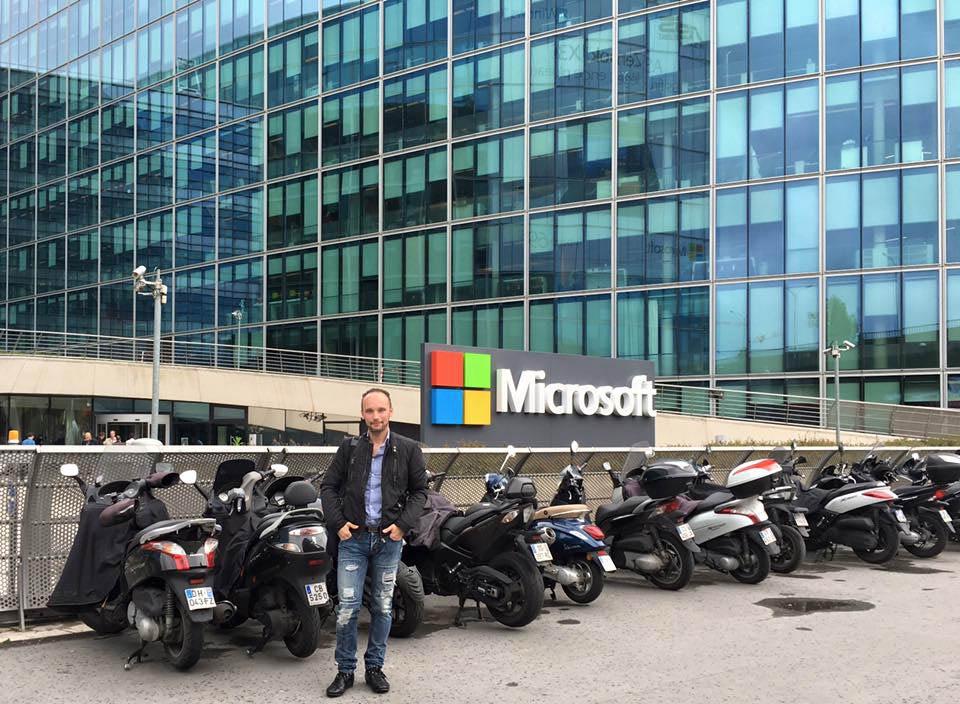 Marco Famà - Parigi - 2016 Microsoft